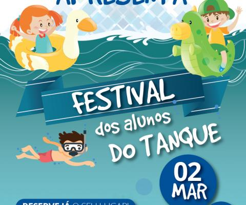 Cartaz do Festival do tanque 2018